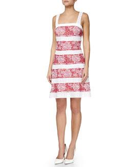 Space-Dye Rose Tank Dress