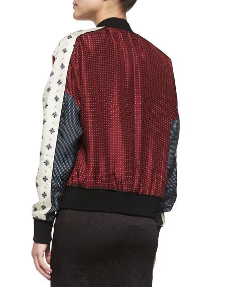 Greta Pattern-Block Jacket