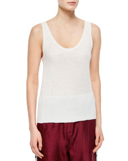 Whitney Cashmere Tank