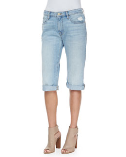 Le Vintage Bermuda Denim Shorts, Parkside