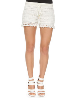 Maera Hand-Crocheted Shorts