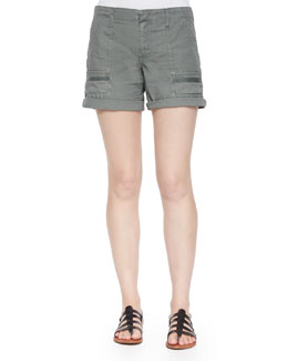 Keli Cotton Poplin Shorts