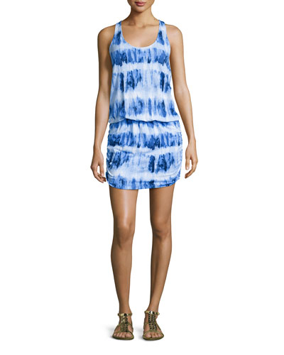 Amicia Sleeveless Tie-Dye Dress