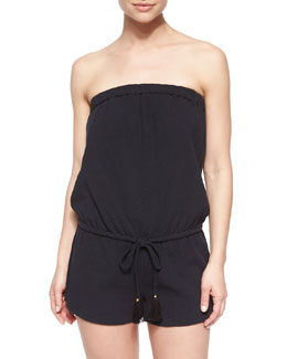 Connely Strapless Short Jumpsuit