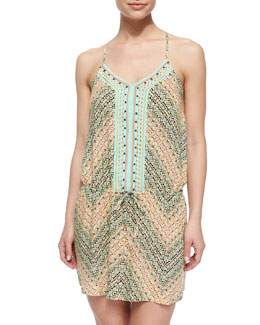 Paso Robles Multi-Pattern Short Dress