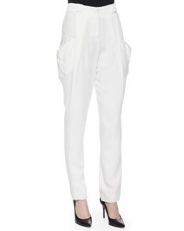 D Lee Drape Crepe Pants