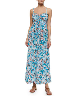 Aloha Maxi Dress, Poolside