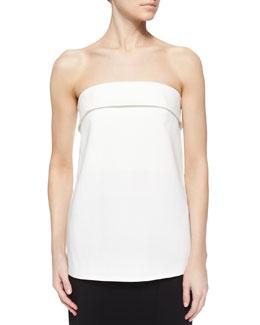 Camilla Strapless Top, White