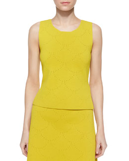 Russell Pointelle Sleeveless Top