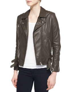 Jone Lambskin Leather Jacket
