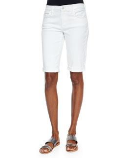 Beau Rolled-Hem Bermuda Shorts, Awaken