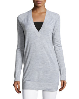 Delrina L Preen V-Neck Sweater