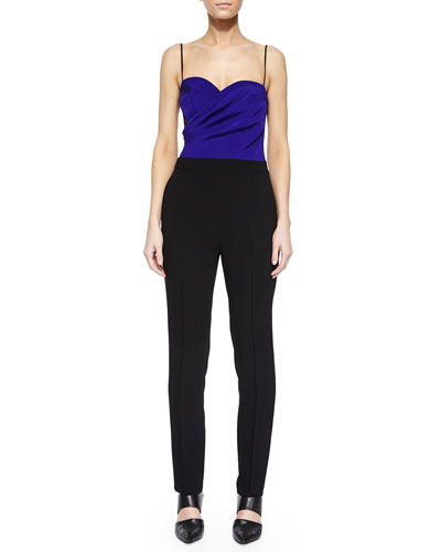 Regine Two-Tone Jumpsuit