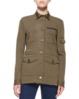 Camp Cotton-Blend Jacket