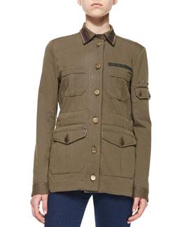 Camp Cotton-Blend Jacket
