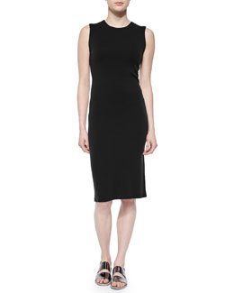 Koldeen Preen Sleeveless Sheath Dress, Black