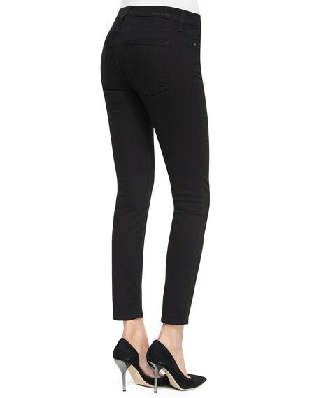 The Stiletto Cropped Jeans, Jet Black
