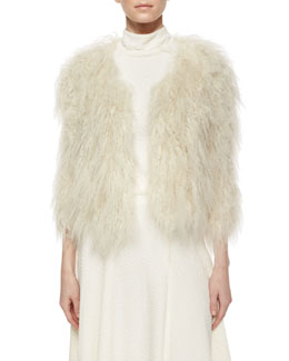 Fawn Lamb Fur Jacket