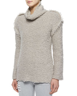 Cliffe Long-Sleeve Nubby Sweater