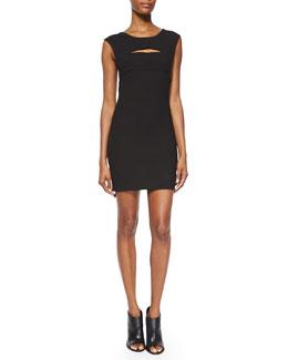 Calley Sleeveless Body-Conscious Mini Dress