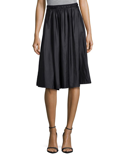 Jenna Pleated A-Line Skirt