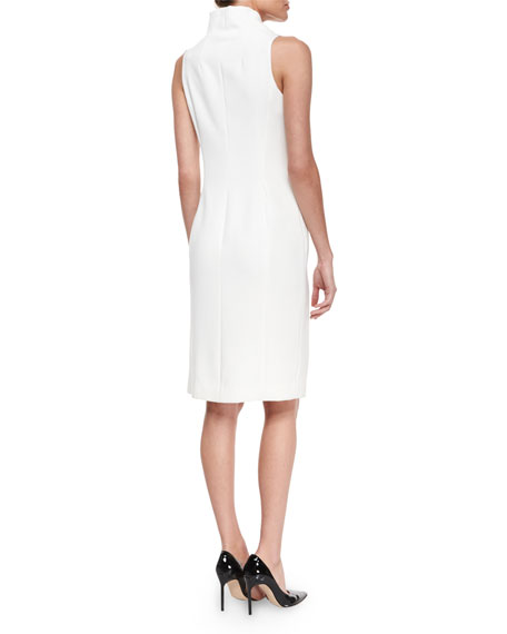 Cowl Neck Sheath Dresses: Milly Sleeveless Cowl-Neck Sheath Dress