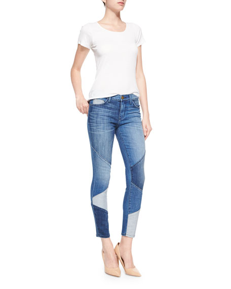 The Stiletto Ankle Jeans, Patchwork