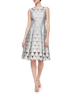 Katia Prisim Fil Coupe Dress