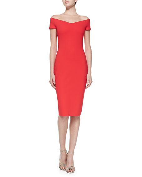 Sally Off-the-Shoulder Cocktail Dress