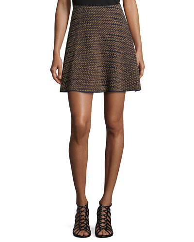 Textured Space-Dye Skirt
