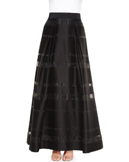 Katie Striped Ball Skirt