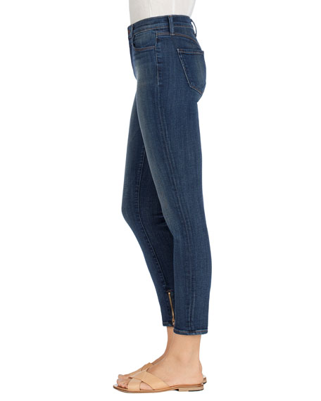 Maria High-Rise Skinny Ankle Jeans, Spirited