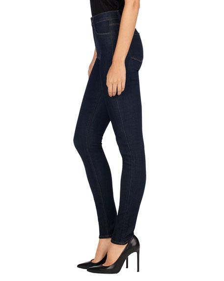Maria High-Rise Super-Skinny Jeans, After Dark