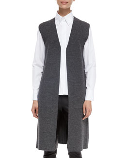 Alanna Long Knit Vest