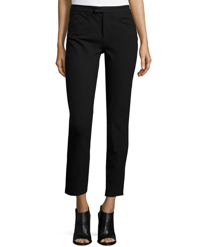 Sullivan Ankle Pants, Black