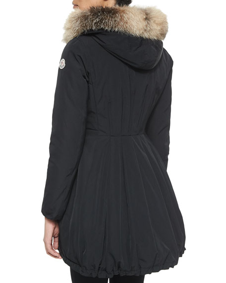 658fd34d4 Arriette Fur-Trim Puffer Coat