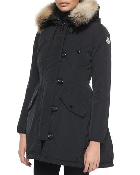 95a951ae2 50% off moncler fur puffer coat 7d58b b983e