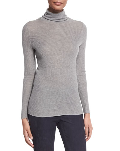 Remmi Long-Sleeve Turtleneck Sweater