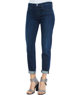 Mason Five-Pocket Cuffed Jeans