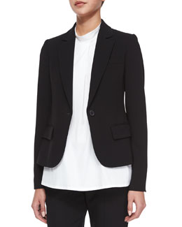 Brescia Long-Sleeve Blazer