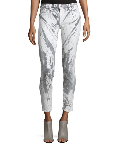 The Stiletto Ankle Jeans, Cracked Earth