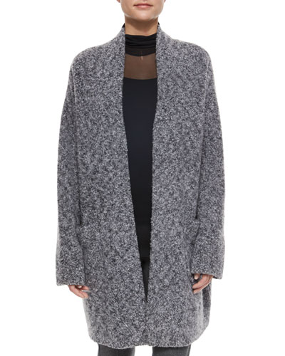 Diana Wool-Blend Sweater Coat