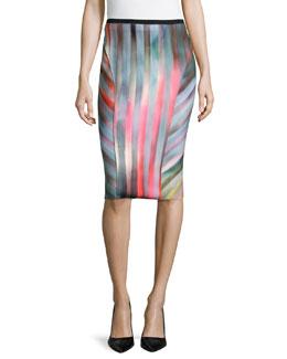 Arianna Reversible Pencil Skirt
