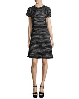Space-Dye A-line Dress