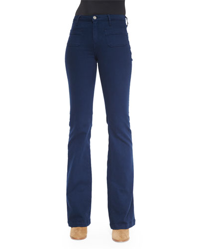 Enchante High-Waist Flare Jeans