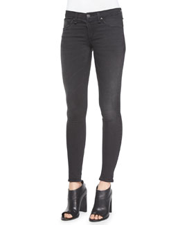 Low-Rise Denim Leggings, Night