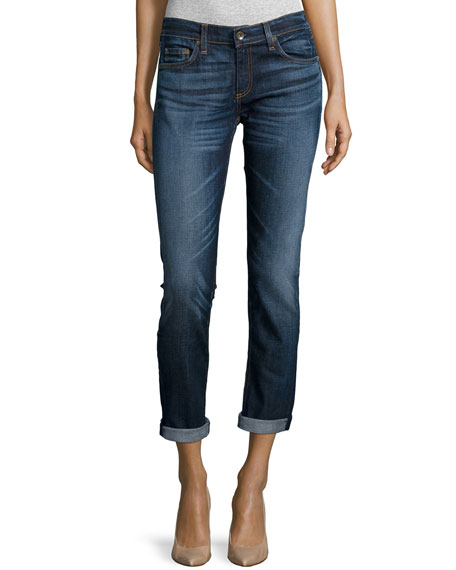 Dre Rolled-Cuff Skinny Jeans, The Pike