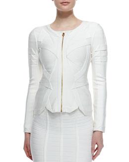 Origami Zip-Front Jacket