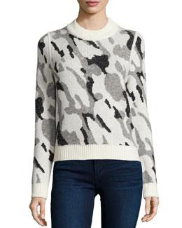 Hubbard Camo-Knit Sweater