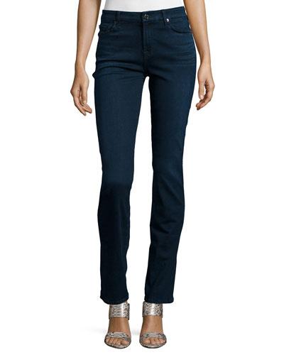 Kimmie Straight-Leg Jeans, Slim Illusion Luxe